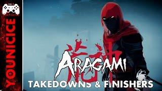 Aragami Takedowns & Finishers | Finishing Moves | Kill Compilation | Kill Montage | Combat