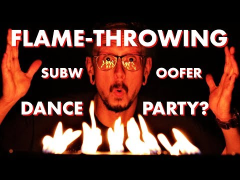 DIY Ultimax Subwoofer FIRE DANCE?