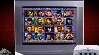 MK Emulation - Mortal Kombat Gold for Sega Dreamcast