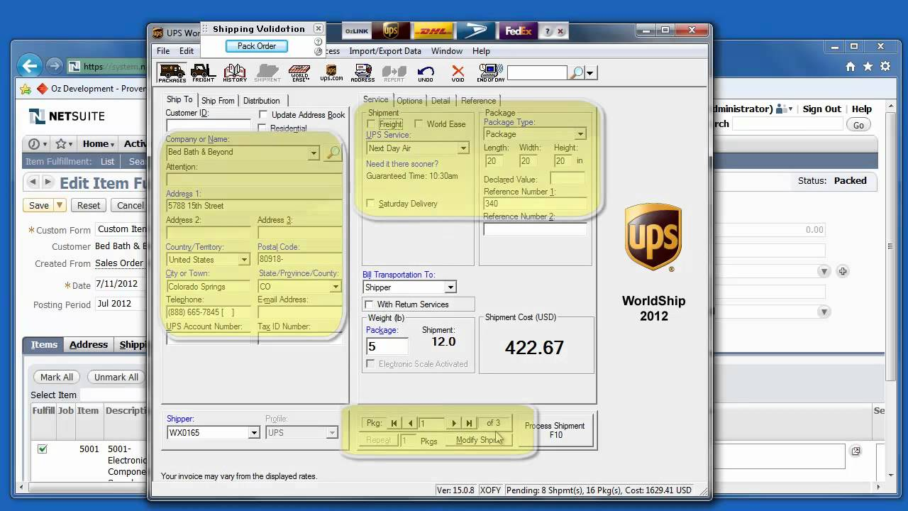 ozlink for netsuite - how to automate asn u0026 39 s with sps commerce - demo