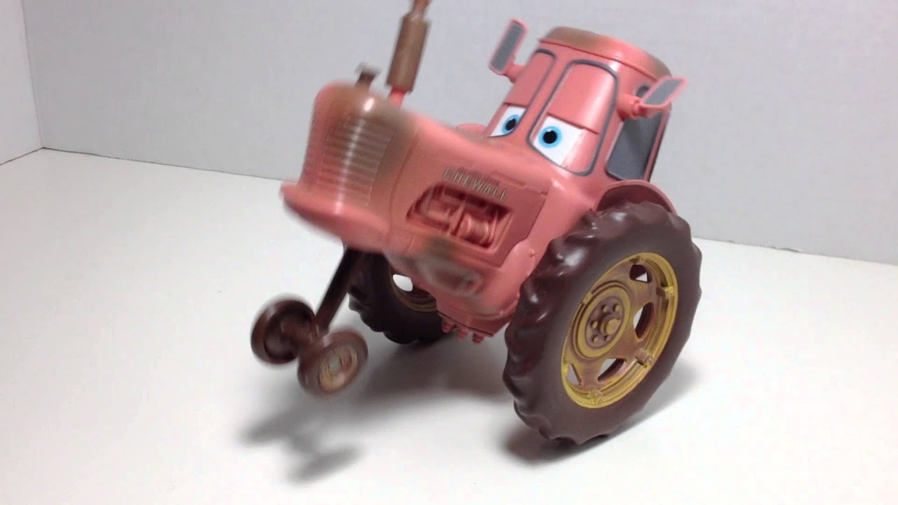 Tractor From Cars : Tractor tipping toy youtube