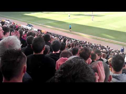Norwich vs MAN UTD  we all follow united song