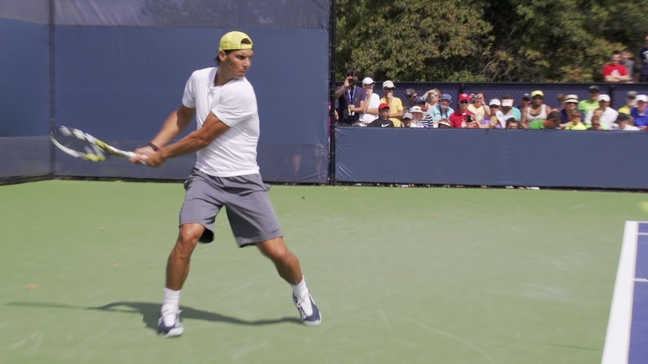 Rafael Nadal's Fastest EVER Backhand?