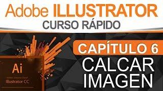 Curso Illustrator  Capítulo 6, Calcar Imagen o Vectorización Automática