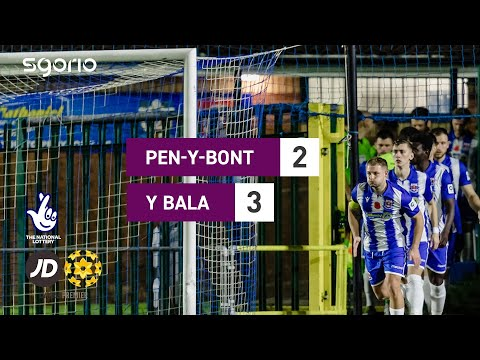 Penybont Bala Town Goals And Highlights