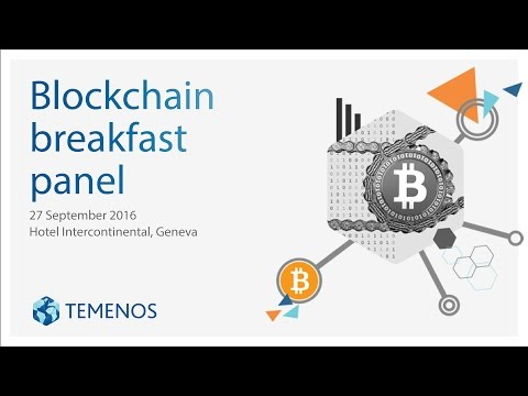 Blockchain Breakfast Panel - Geneva, 27 September