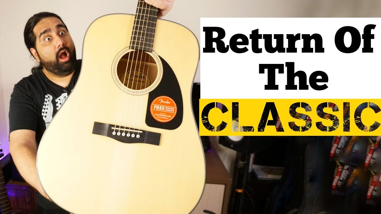Return Of The Classic !! | Fender CD60 V3 Unboxing And Review