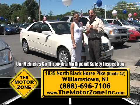 """""""New Lower Prices with Down Payments starting at $99"""" Motor Zone, Williamstown NJ"""