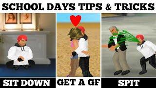 SCHOOL DAYS: TIPS AND TRICKS/MDICKIE. screenshot 1
