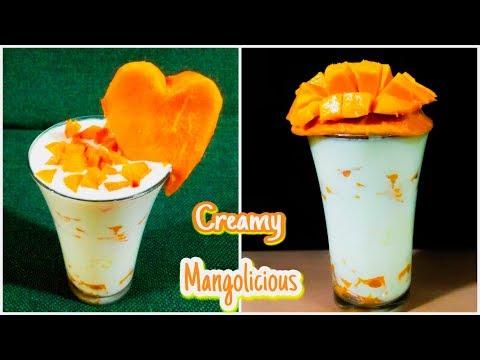Beat the heat with Creamy Mangolicious Lassi   Mango Lassi   Mango Yogurt   Summer Special
