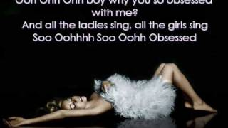 Mariah Carey - Obsessed Instrumental/Karaoke with lyrics on screen