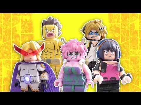 LEGO My Hero Academia Custom Minifigures Part 3