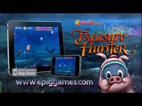 ePig! Dive Treasure Hunter GamePlay Video