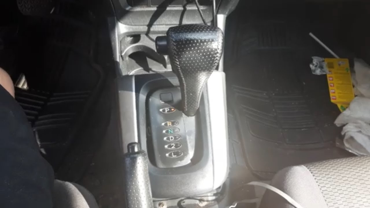 Toyota Rav4 2001 Thru 2005 Shifter Light Bulb Replacement Youtube