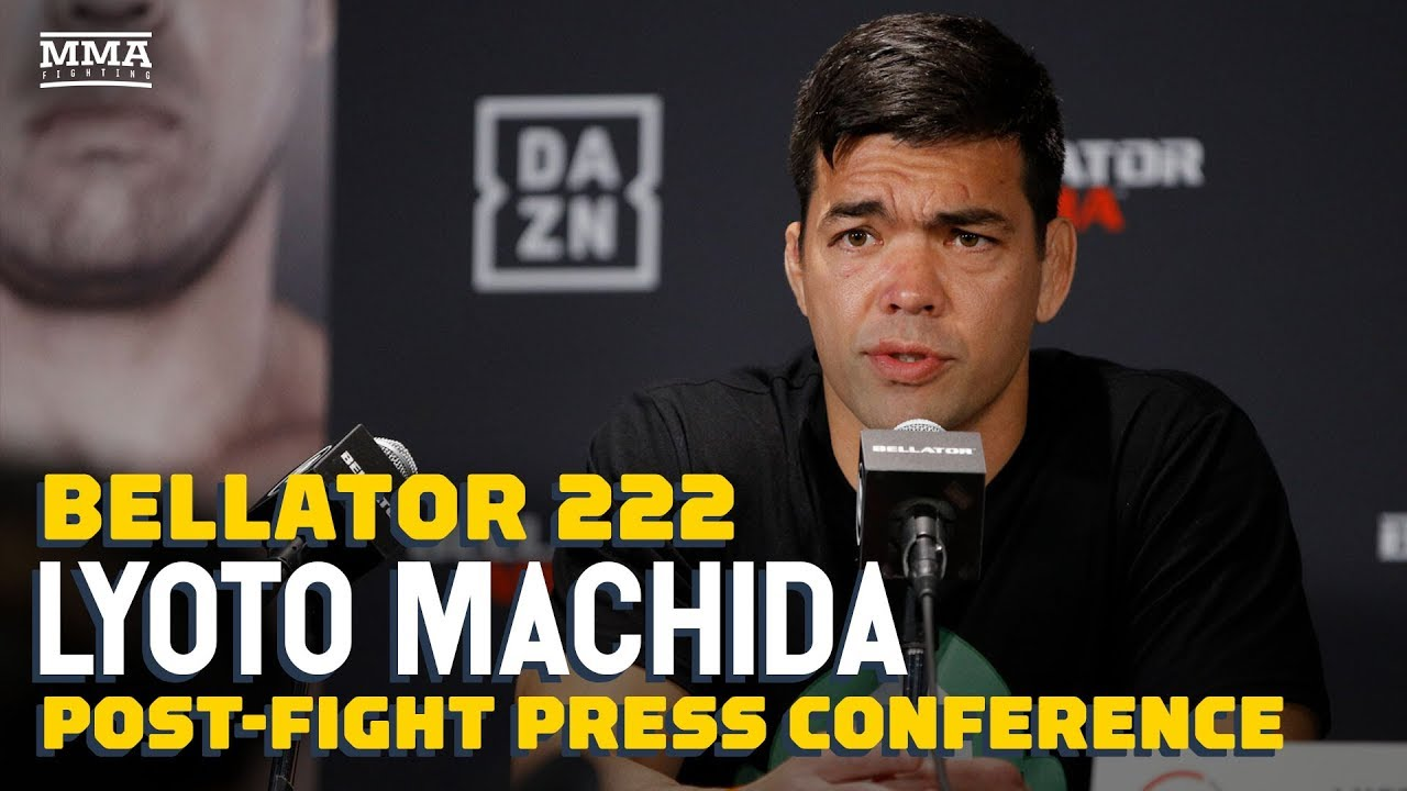 Bellator 222: Lyoto Machida Post-Fight Press Conference - MMA Fighting
