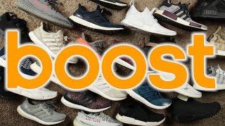 """My Entire """"Adidas Boost Collection"""""""
