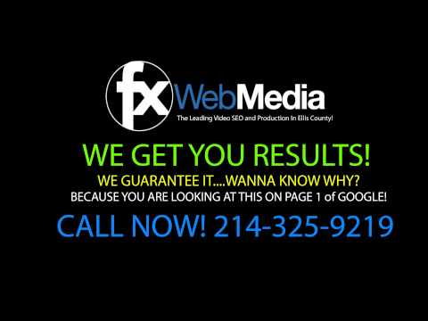 Web Design In Waxahachie Texas - Waxahachie Web Design - FX Web Media