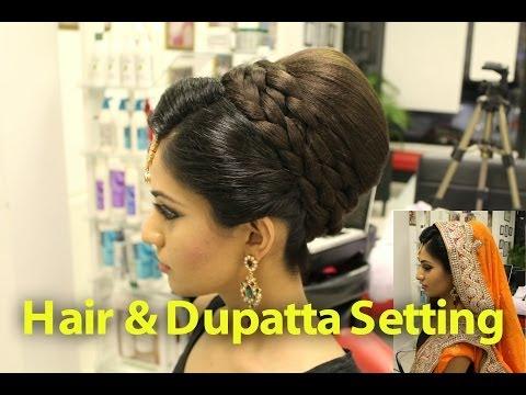 TUTORIAL: Indian, Pakistani, Asian Bridal Hair Style