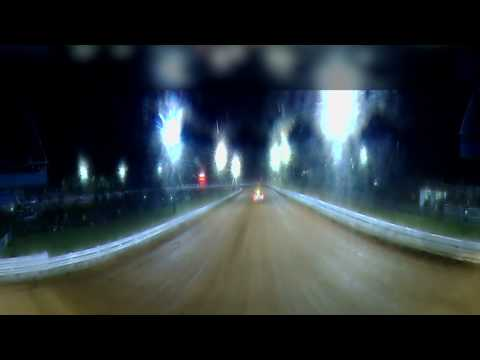 4 abreast bridge cam at Williams Grove Speedway #360fly