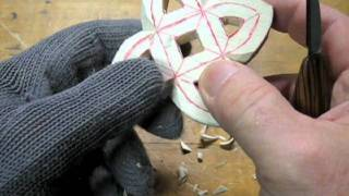 Wood Carving A Gothic Ornament Part 2