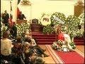 Senado realizó emotiva ceremonia de despedida a Adolfo Zaldívar