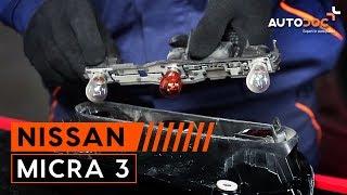 Changer ampoules de feux arrière NISSAN MICRA 3 TUTORIEL | AUTODOC
