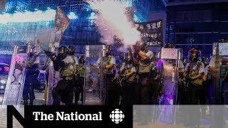 Hong Kong tensions rise amid stepped up protests