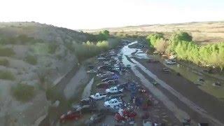 Drone video La Junta de Los rios 2016 Chihuaha !