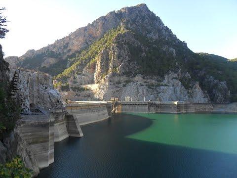 Oymapinar Dam, Manavgat, Turkey