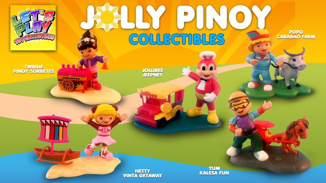 2016 Jolly Pinoy Collectible Toy from Jollibee