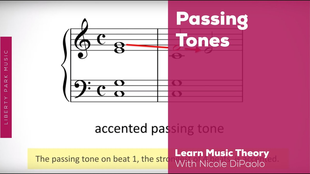 What are Passing Tones   Online Music Theory   Video Lesson