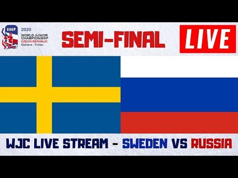 Sweden Vs Russia Live Stream | IIHF World Junior Hockey Championship Play By Play