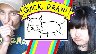 How Do You Not Know What This Is??!?!!! - Quick, Draw! with MicroGuardian - DOLLASTIC PLAYS!