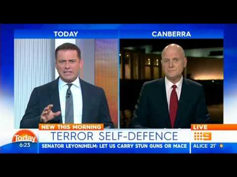 Talking Self-defence With Karl Stefanovic
