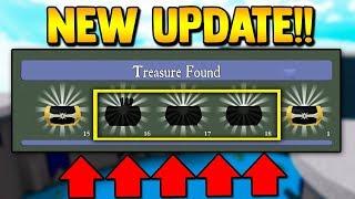3 NEUE SECRET CHESTS!! *NEUES UPDATE* | Baue ein Boot für Treasure ROBLOX