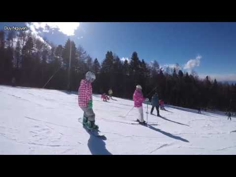 Fujiten Snow Resort 2018-2-12_Trượt Tuyết Dưới Chân Núi Phú Sĩ