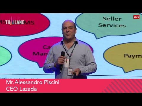 E-commerce Ecosystem | Mr.Alessandro Piscini, CEO Lazada