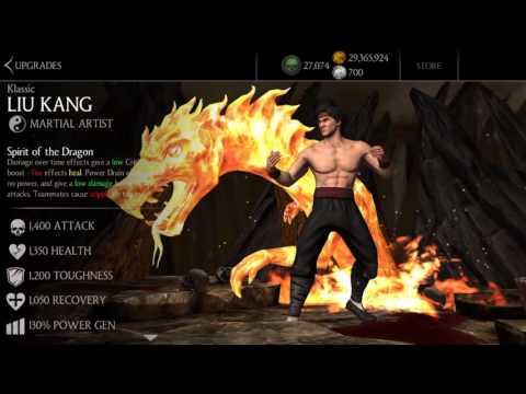 Mortal Kombat X Mobile Update 1.13/ Baraka, Jade, Tanya, Klassic Liu Kang Quick Review
