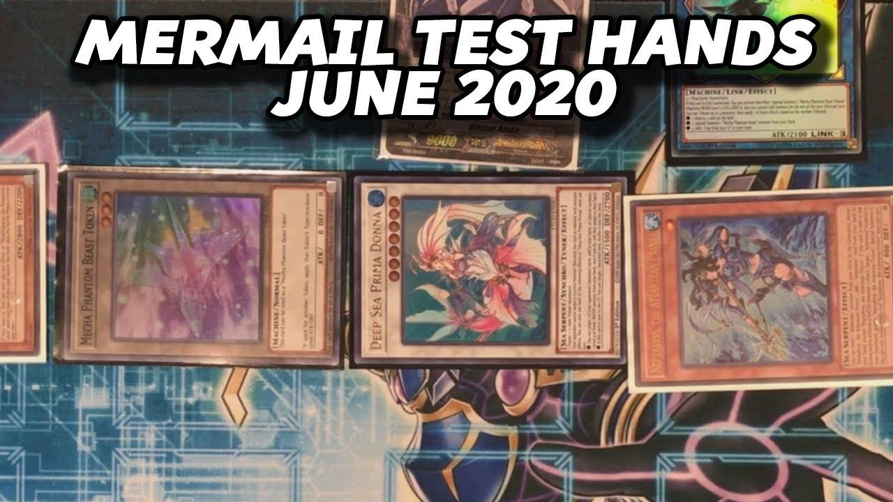 Mermail Test Hands & Combos - June 2020