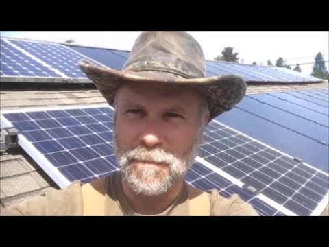 Our Solar Power Set Up Tour