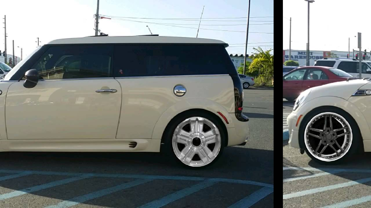 Mini Cooper Wheels >> R-55 Mini Cooper Clubman Wheels - YouTube