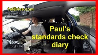 Paul's standards check diary 1 - a driving instructors journey to his standards test