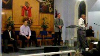Revival at Trinity COGIC Lansing KS. Elder Pastor Rick Jackson (Evangelist Philip Harris Preaching)