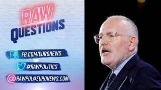 """EU-Vize Timmermans: """"Banken sind mit schuld am Aufstieg der Rechten"""""""