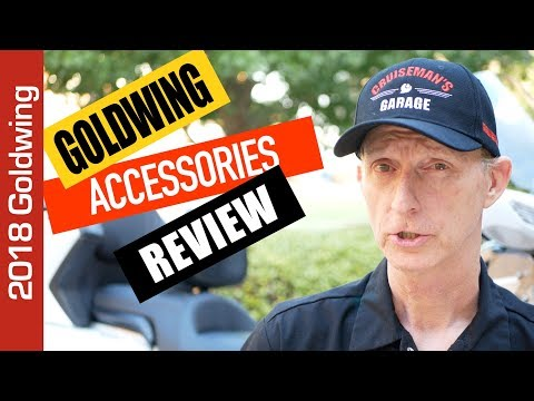 Cruiseman's 2018 Honda Goldwing Accessories Review