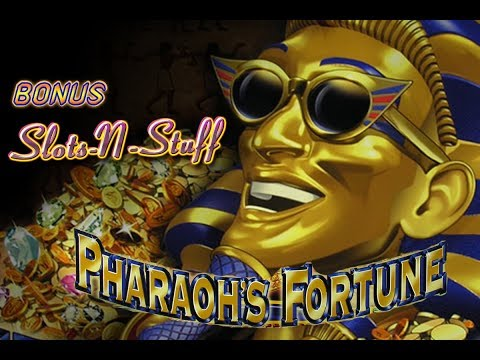 Pharaohs Fortune Slot Play Bonus $750 a spin High Limit Slot Play!