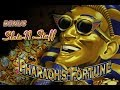 Pharaohs Fortune Slot Play Bonus 750 A Spin High Limit Slot Play mp3