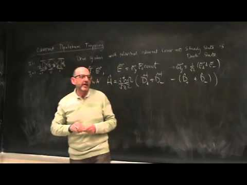 Lec 26   Quantum Trajectories IV  Quantum State Diffusion   Phys 581 Fall '14 Quantum Optics II