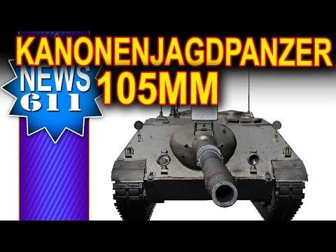 Kanonenjagdpanzer z działem 105mm? - NEWS - World of Tanks