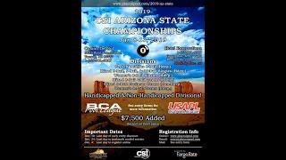 CSI Arizona State Championships 9 Ball  3rd place matchJames Taylor VS Christopher Lozada